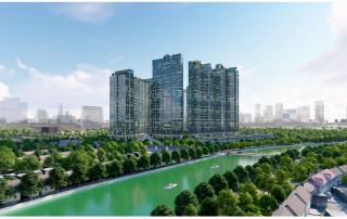Sunshine City Sài Gòn tọa lạc bên dòng sông Cả Gấm